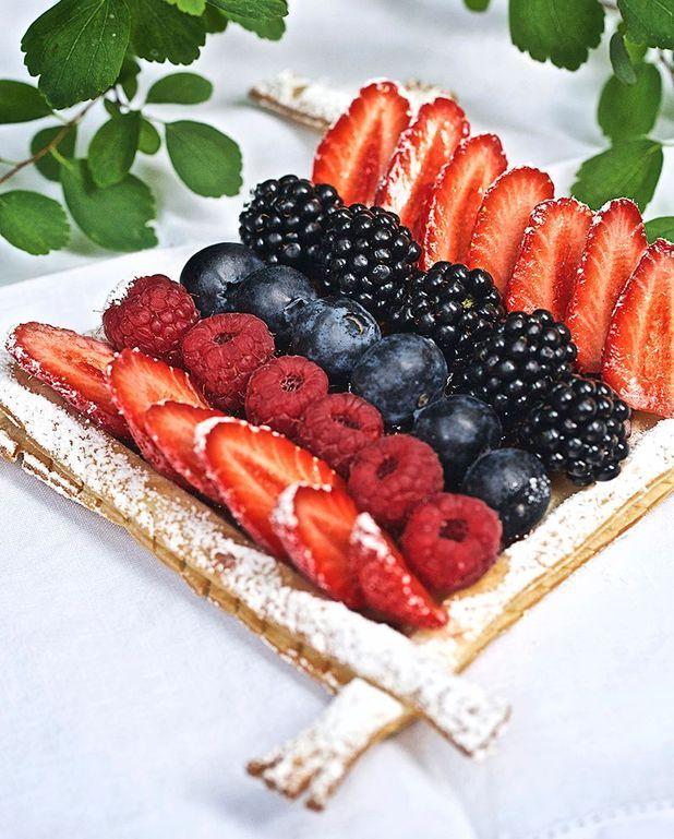 Tarte aux fruits des bois sans gluten de Christophe Michalak