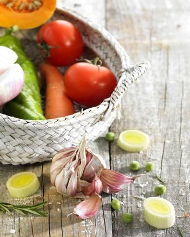 Tarte aux légumes comme un tian