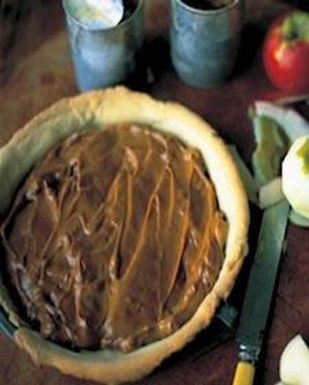 Tarte aux pommes et au caramel