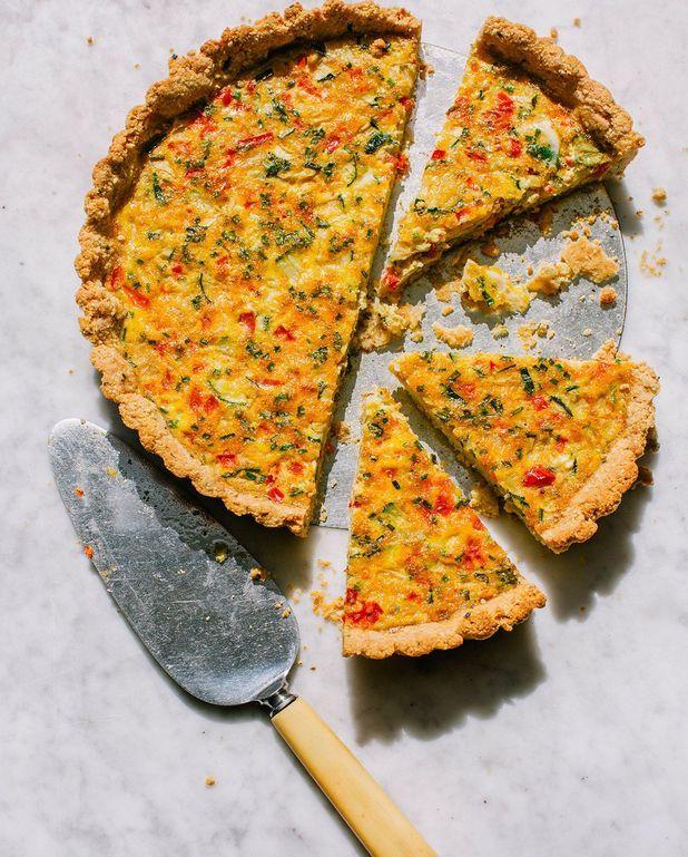 Tarte courgettes et carottes râpées