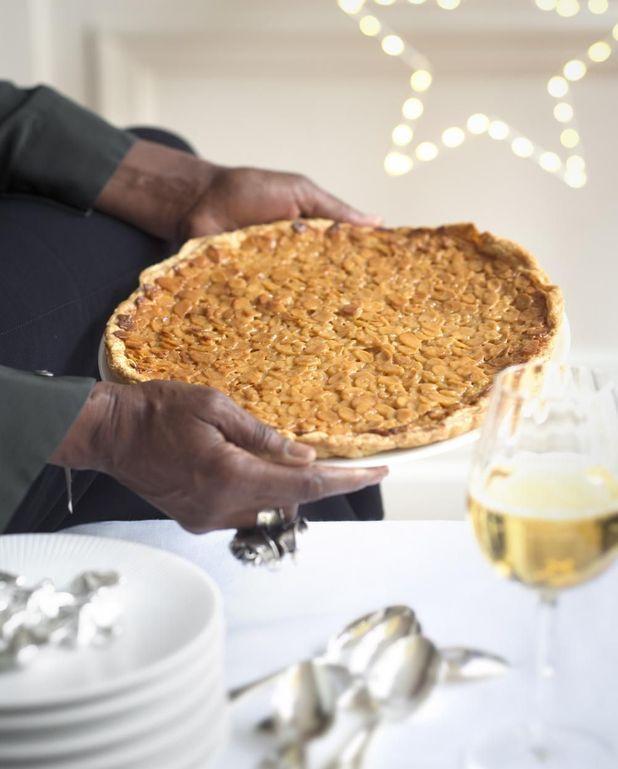 « Tarte dure » miel et amandes