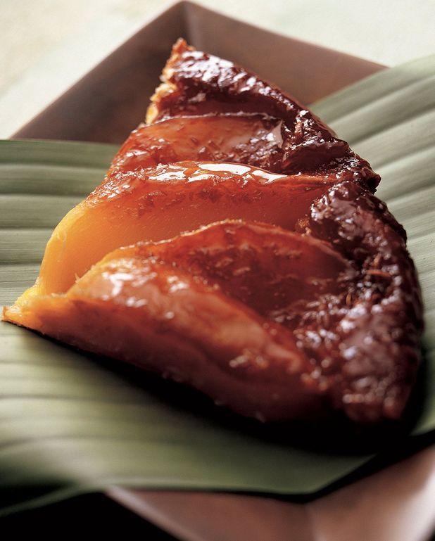 Tarte tatin coco-mangue