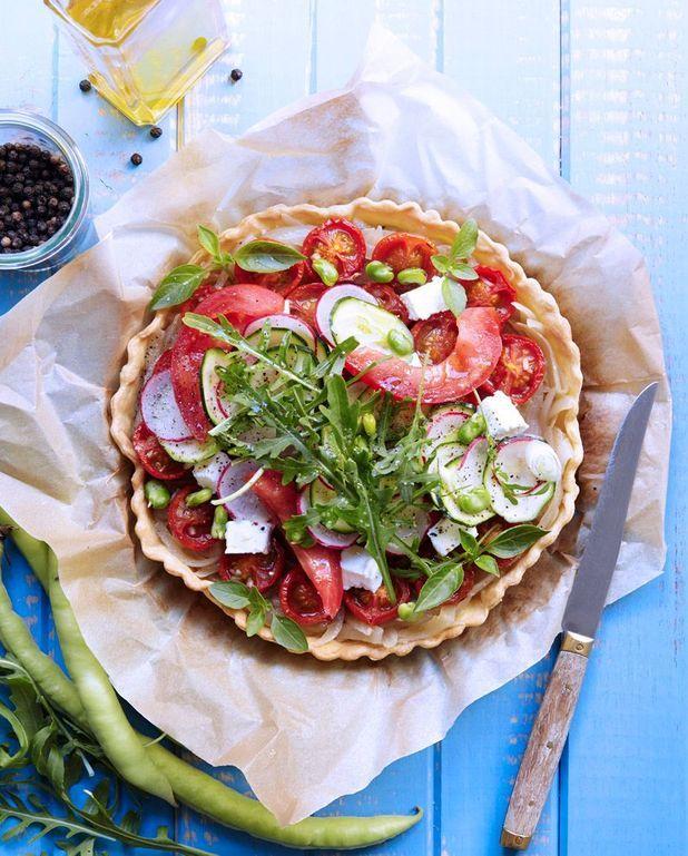 Tarte tiède « Mirazur » à la tomate