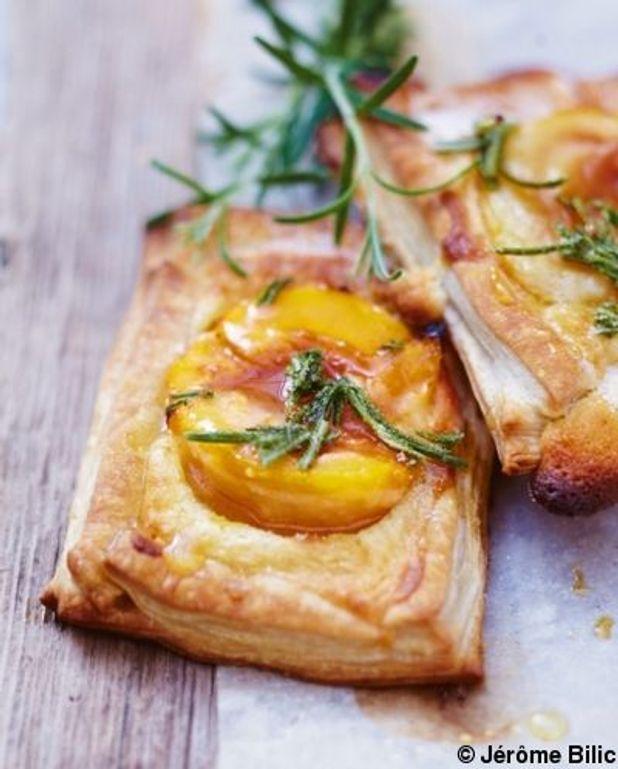 Tartelettes aux abricots et crème d'amande