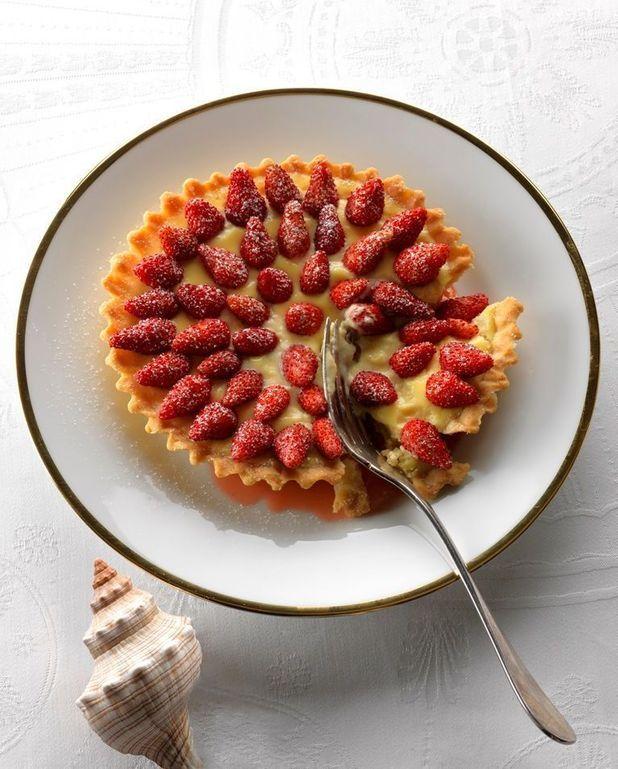Tartelettes aux fraises des bois