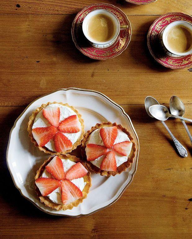Tartelettes aux fraises et mascarpone de Mimi Thorisson