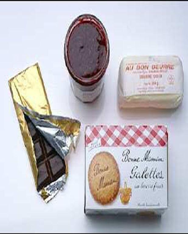 Tartelettes express choco framboises
