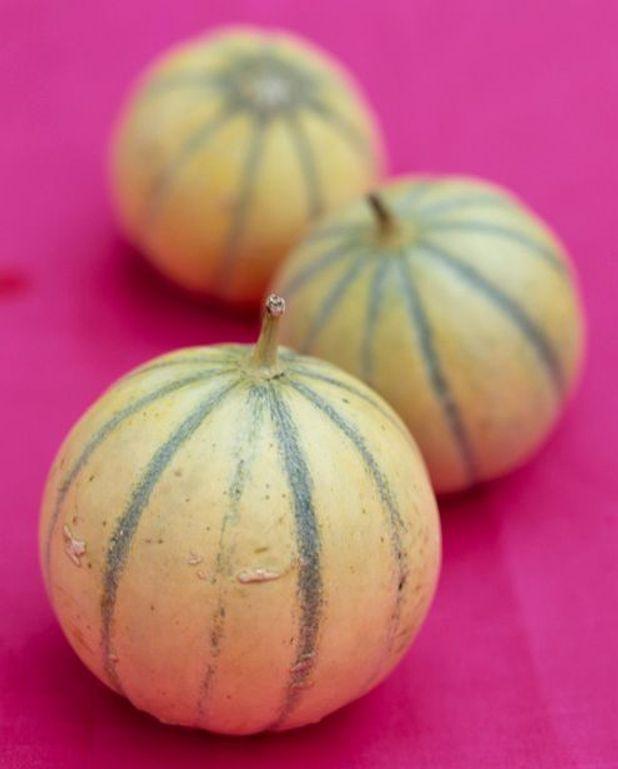 Terrine aux deux melons et au jambon cru