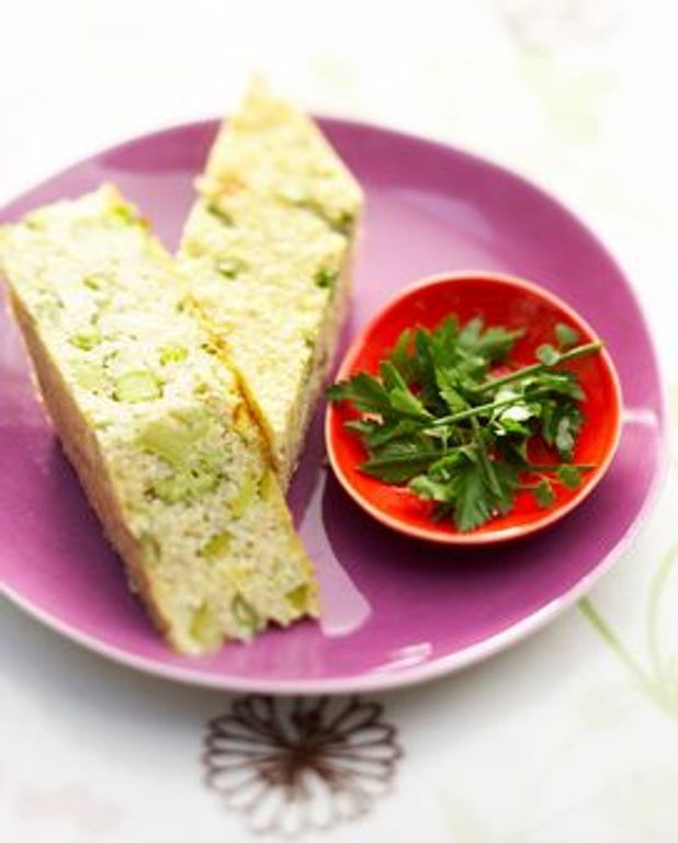 Terrine de légumes verts et de quinoa