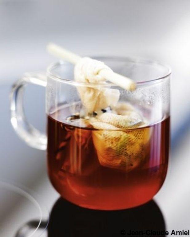 Thé jasmin, hibiscus, miel de citronnier