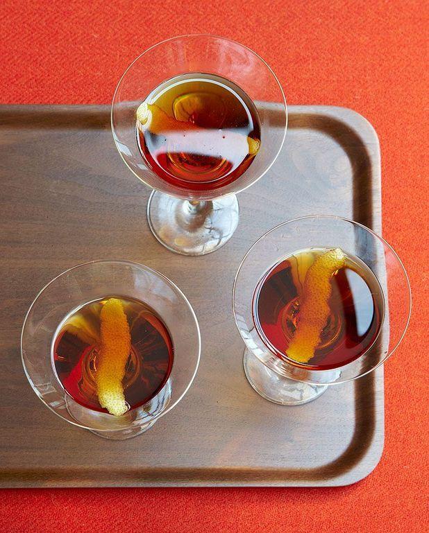 Cocktail Manhattan au bourbon