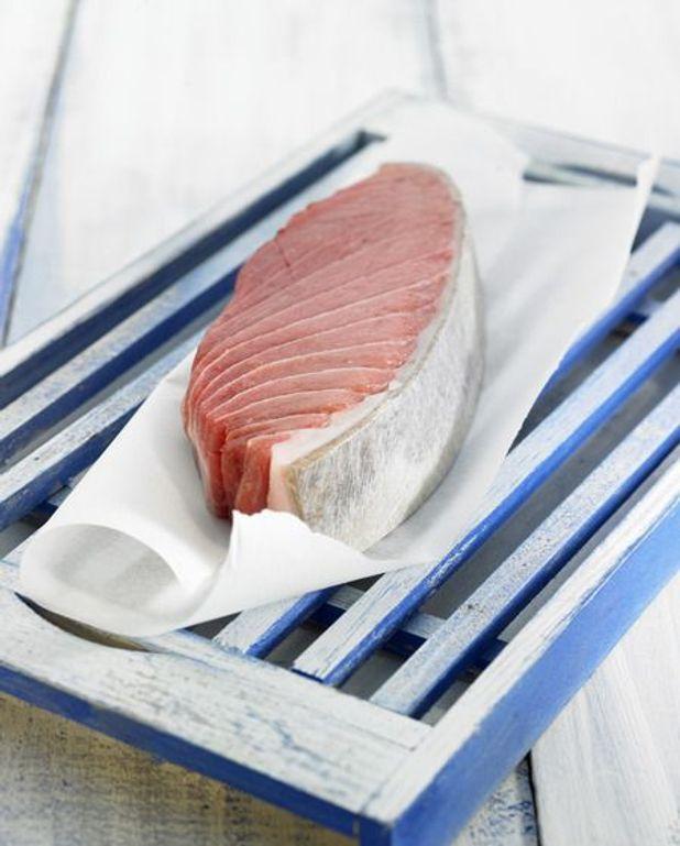 Thon grillé marinade méditerranéenne