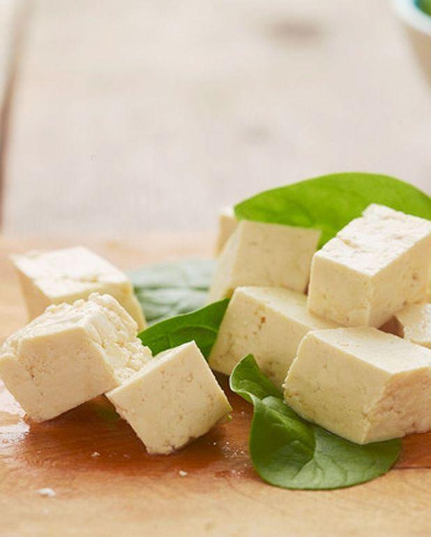 Tofu mariné au gingembre frais