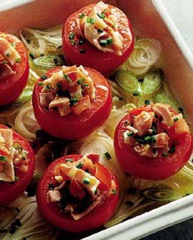 Tomates à la viande