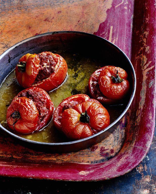 Tomates-merguez vite faites