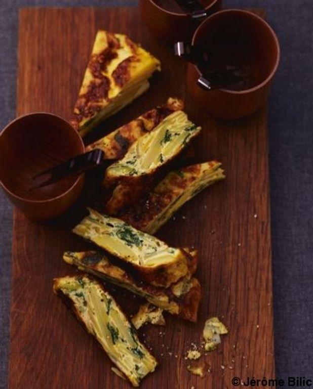 Tortilla aux légumes