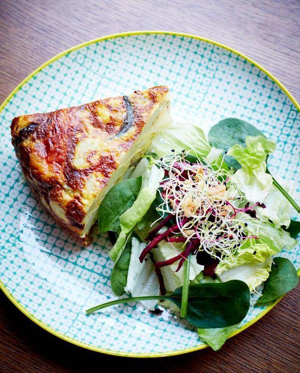 Tortilla aux légumes grillés