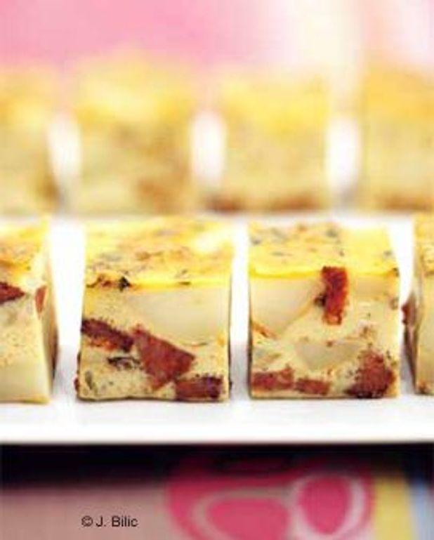Tortilla pommes de terre-chorizo