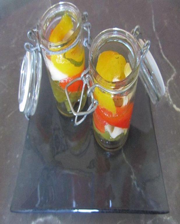 Trio de poivrons et abondance