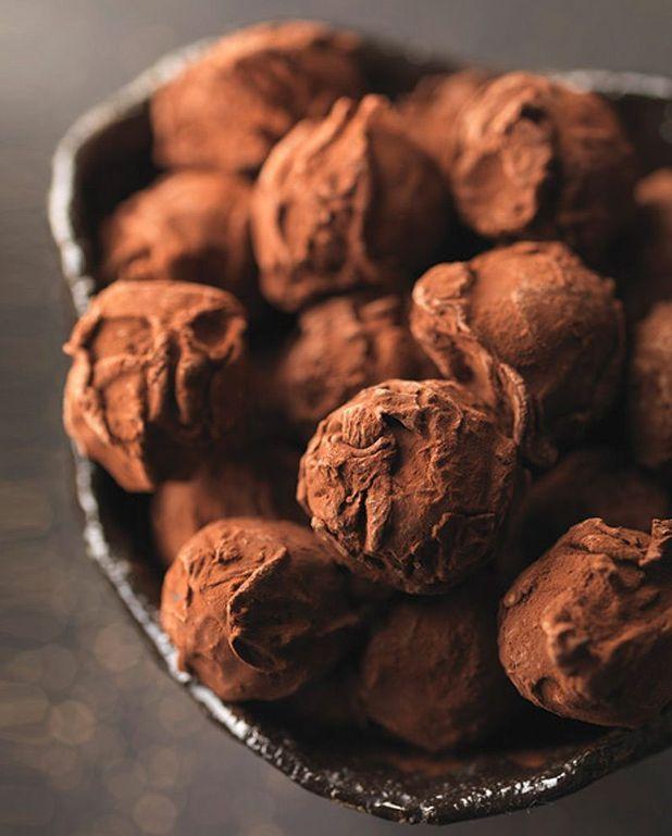 Truffes au sucre pétillant de Pièr-Marie Le Moigno
