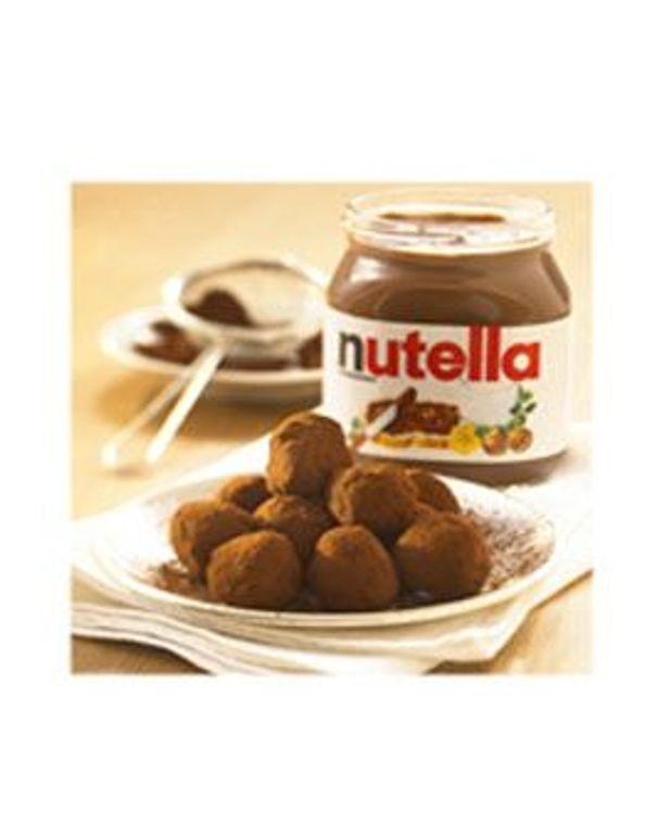 Truffes de Nutella