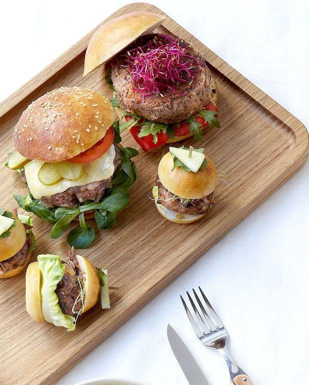 Veggie burger aux haricots rouges