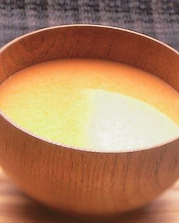 Velouté potimarron-fenouil