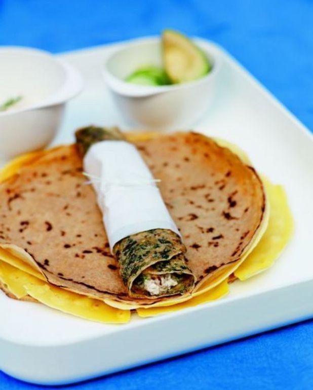 Wraps à la mousse de sardine pimentée