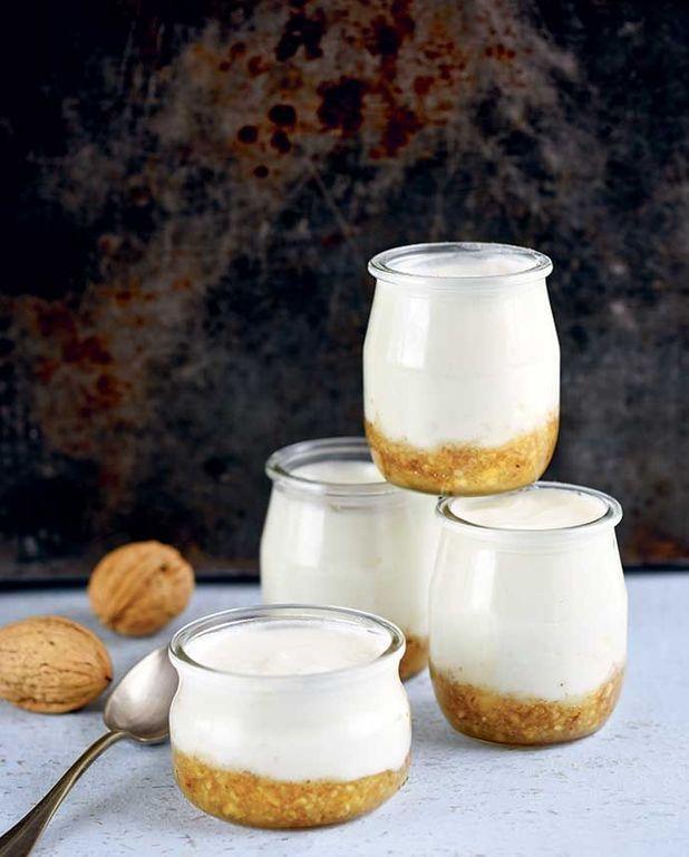 Yaourts au miel et aux noix Thermomix
