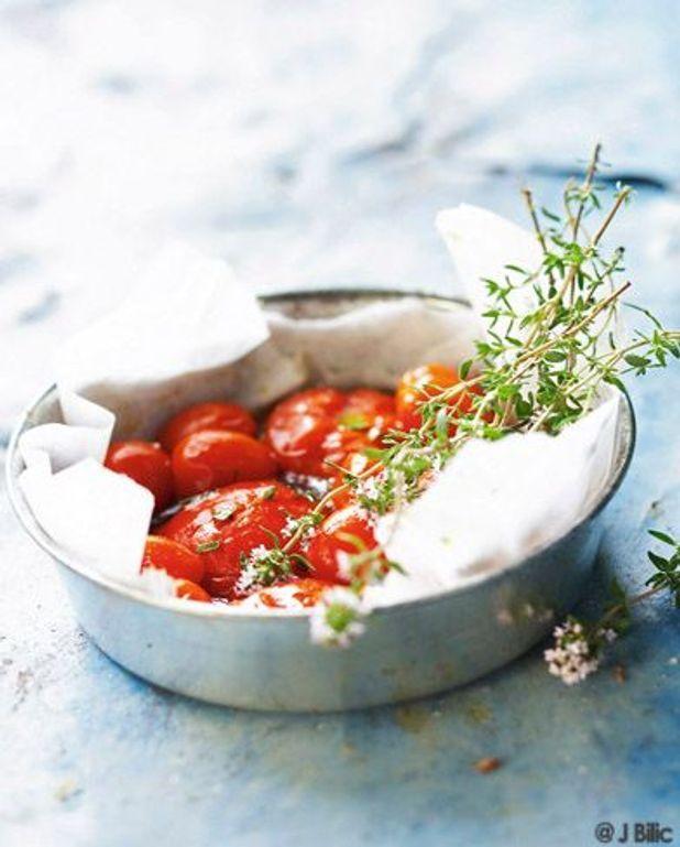 Confit de lapin aux tomates