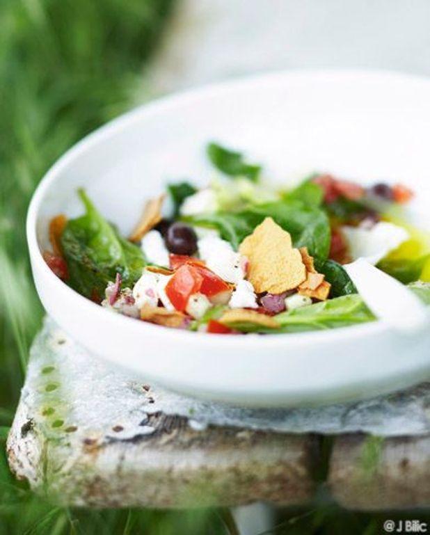 Salade de feta à la grecque