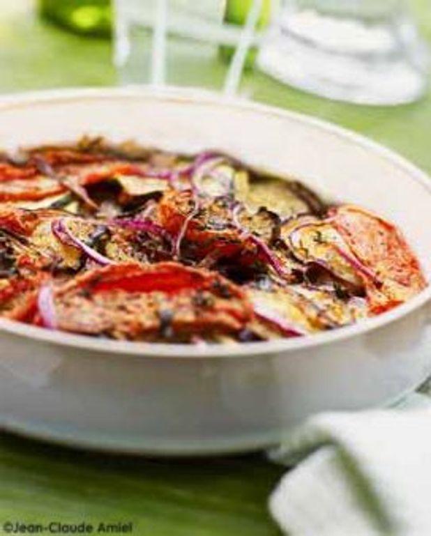 Tian aux légumes à la méditerranéenne