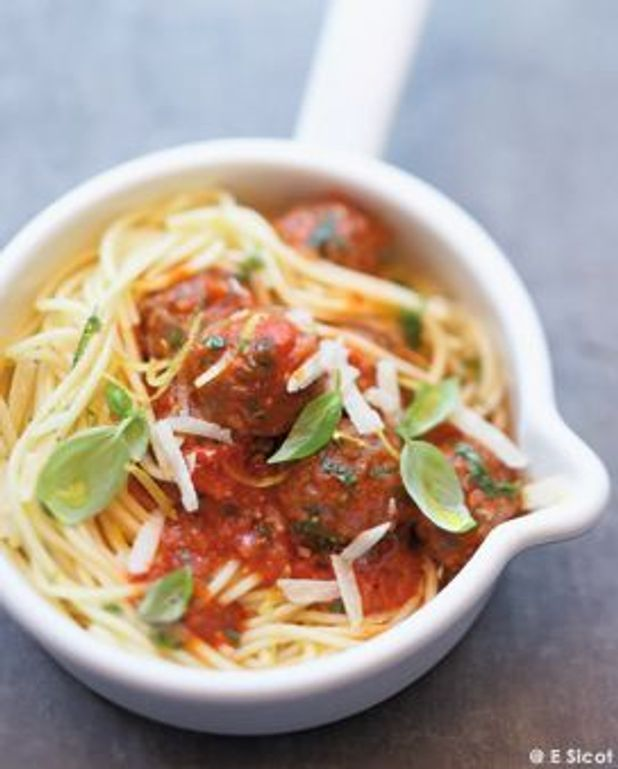 Spaghettis à la bolognaise express