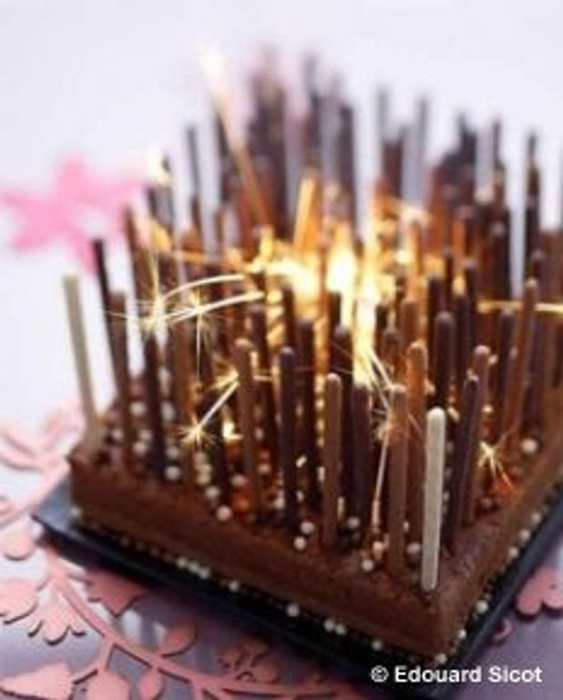 Gâteau high-tech