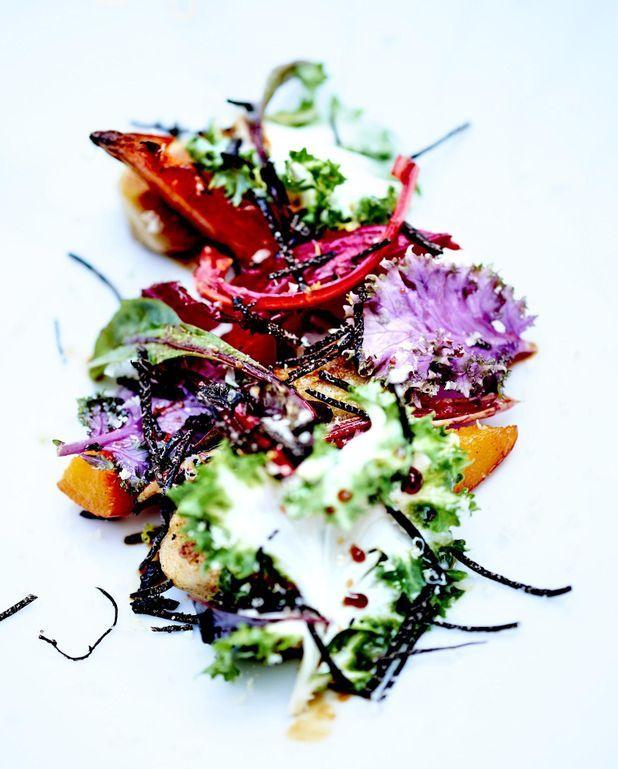 Chou-fleur rôti cannelle-réglisse