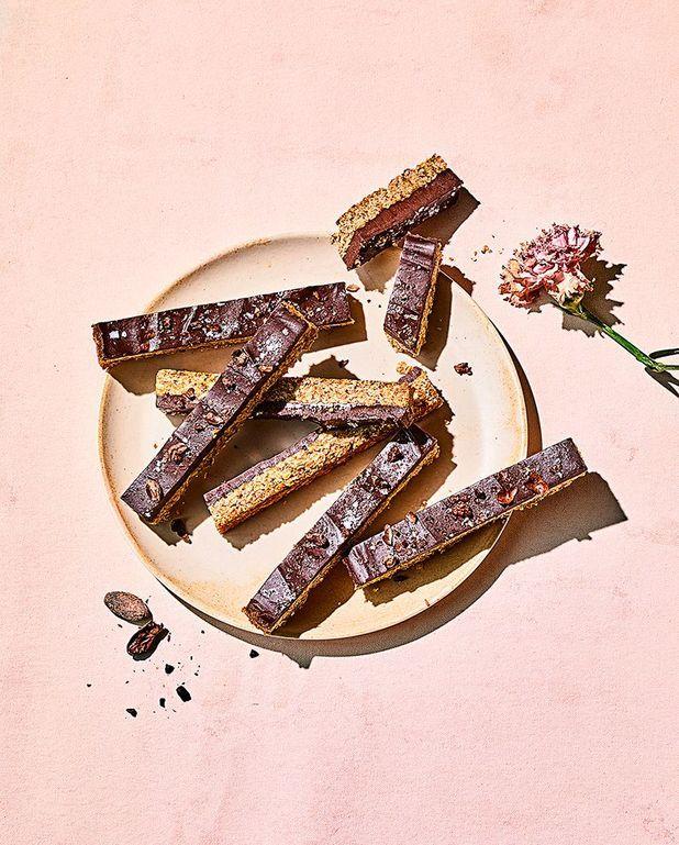 Barres chocolat-avoine pour le petit déjeuner