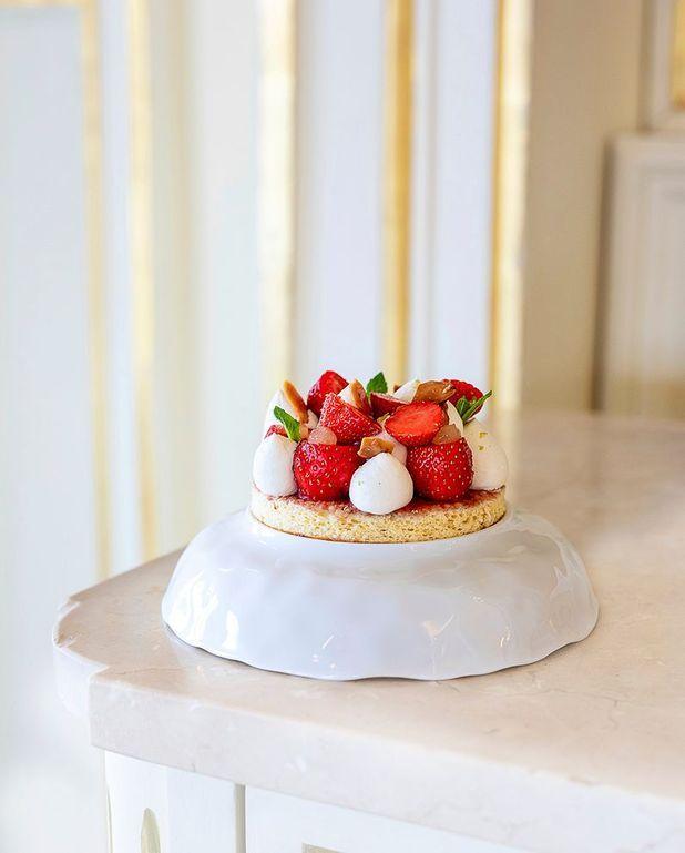 Boudoirs aux fraises et chantilly