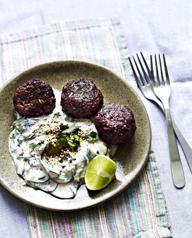 Boulettes sans viande et tzatziki