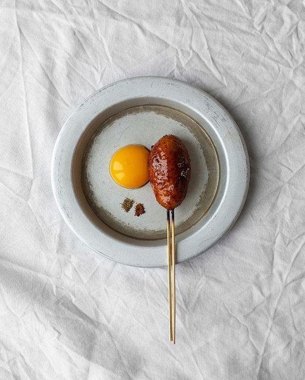 Brochettes tsukune au poulet