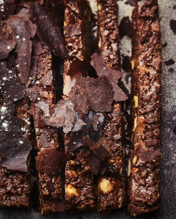 Brownie aux deux chocolats