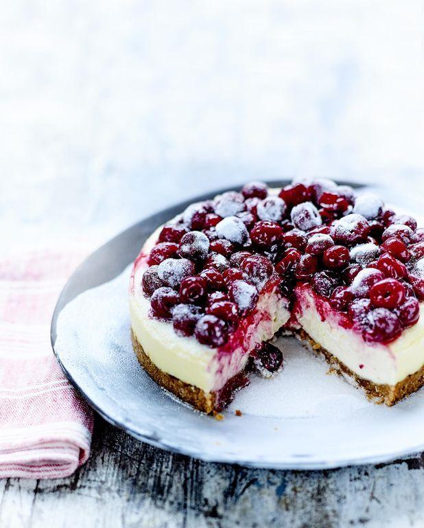Cheesecake aux cerises de Christophe Felder