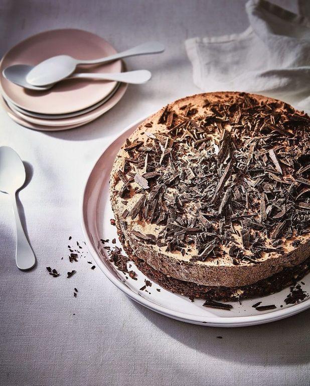 Cheesecake tout chocolat
