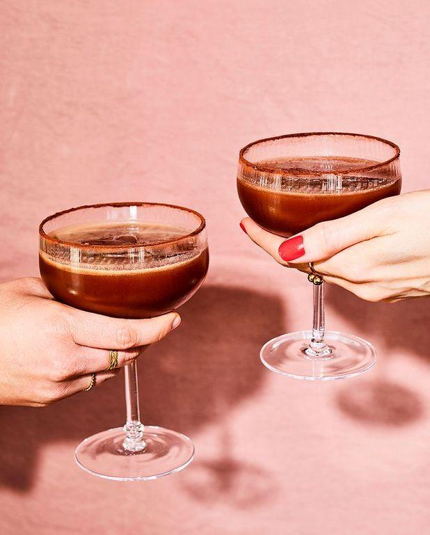 Cocktail chocolat à la jamaïcaine