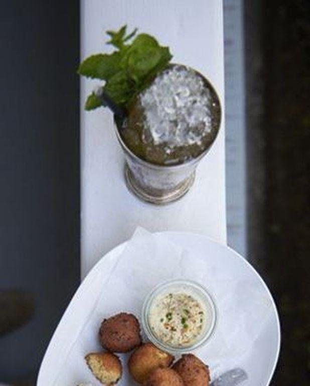 Cocktail «Greyfield Garden» Julep