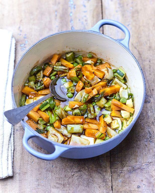 Cocotte de légumes primeur