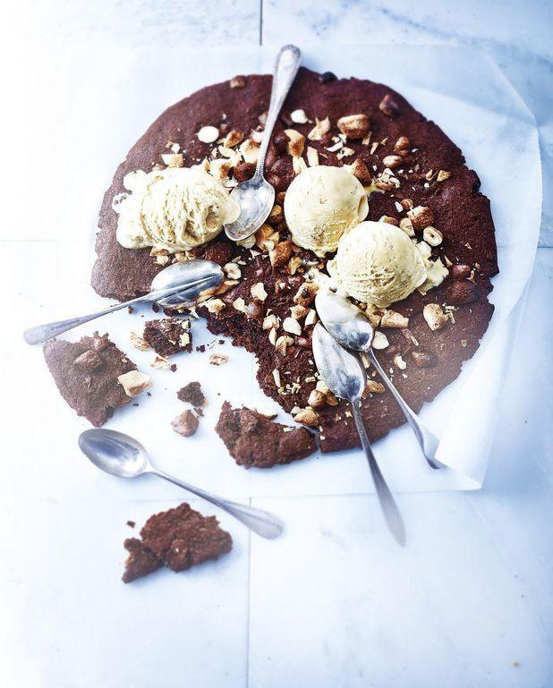 Cookie géant au chocolat