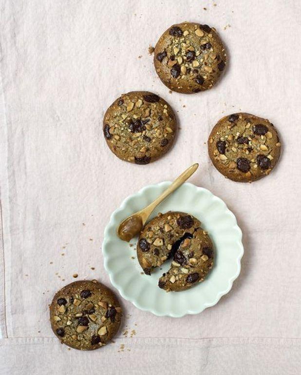 Cookies gourmands, caramel au beurre salé et poivre cubèbe
