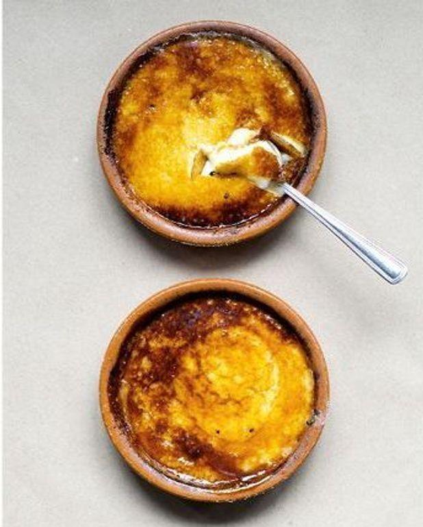 Crèmes catalanes au maïs