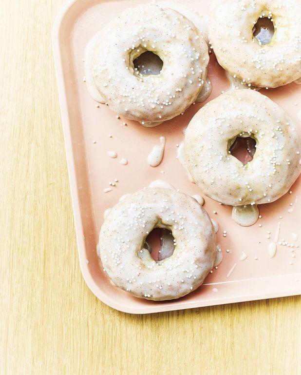 Donuts au four à la vanille