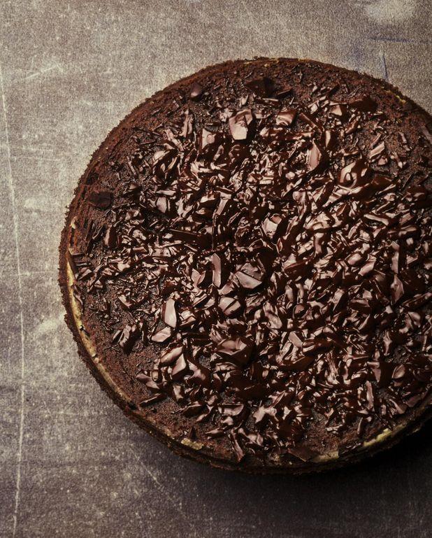 Gâteau au chocolat noir intense